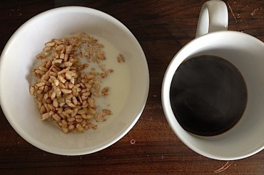 Puffed Rice Granola & Black Coffee