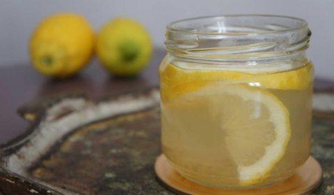 Morning-Glow mit Honig-Zimtwasser
