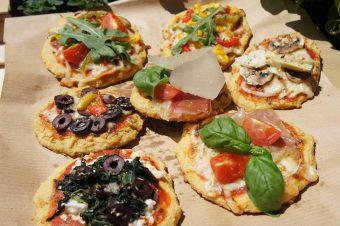 """Socca: """"Pizza alla Mamma"""" mit Kichererbsenmehl (glutenfrei)"""