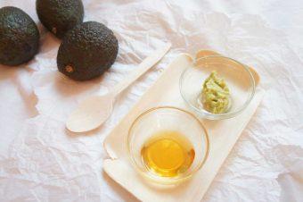 DIY Avocado Gesichtsmaske für trockene Haut