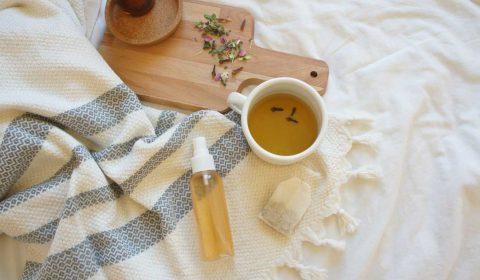 DIY Gesichtswasser mit Kräutertees