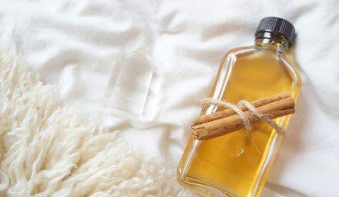 Zimt-Vanilleöl gegen Cellulite und Verspannungen