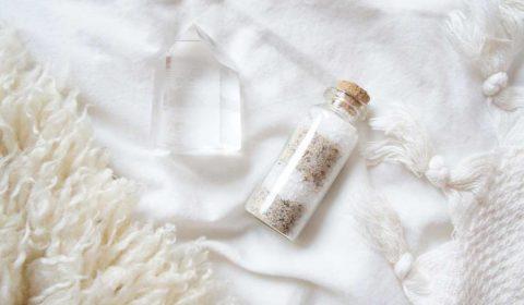 Zimt Vanille-Badesalz für straffe Haut und müde Gelenke