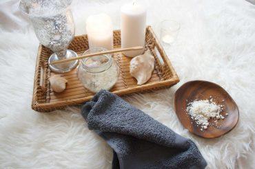 Aromatherapie-Badesalz für müde Gelenke und trockene Haut