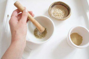 Wow-Effekt: Schnelle Peelingmaske mit Cleansing Grains