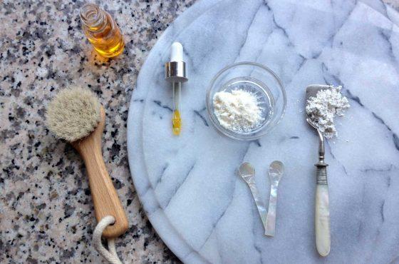 Gesichtsmaske für glatte Haut mit Kokos und Kaolin